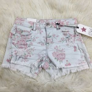 Nwt's Vanilla Star High Low Shortie Shorts